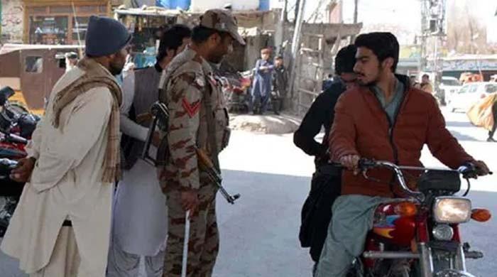بلوچستان: صوبے بھر میں موٹرسائیکل کی ڈبل سواری پر پابندی عائد