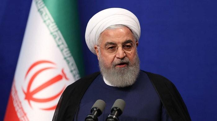 امارات، اسرائیل معاہدہ ٹرمپ کو دوبارہ الیکشن جتوانے کیلئے کروایا گیا، ایرانی صدر
