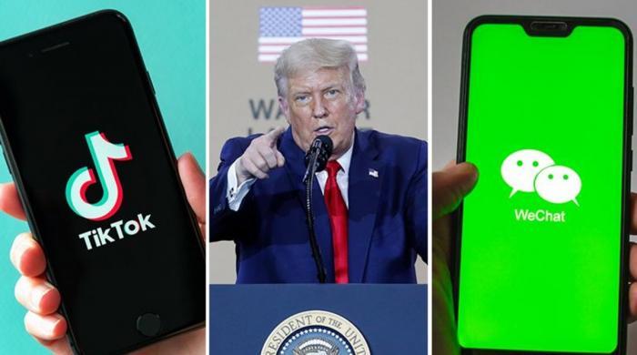 امریکا کا ٹک ٹاک اور وی چیٹ پر پابندی کا اعلان