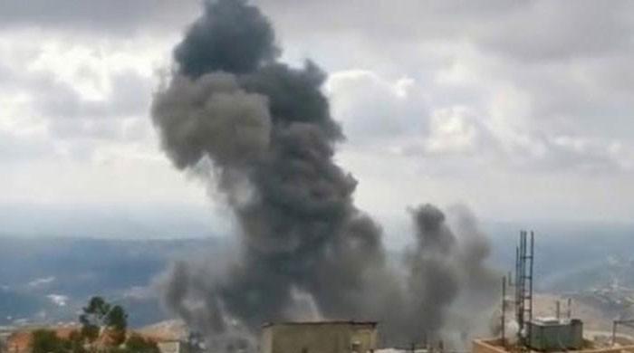 لبنان: حزب اللہ کے اسلحے کے گودام میں دھماکے سے متعدد عمارتیں تباہ