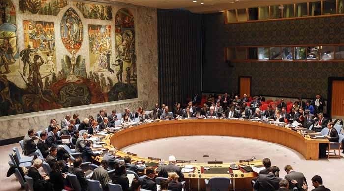 سلامتی کونسل کے اجلاس میں چینی اور امریکی مندوب ایک دوسرے پر بھڑک گئے