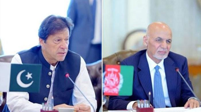وزیراعظم اور افغان صدر میں ٹیلی فونک رابطہ، افغان امن عمل پر تبادلہ خیال