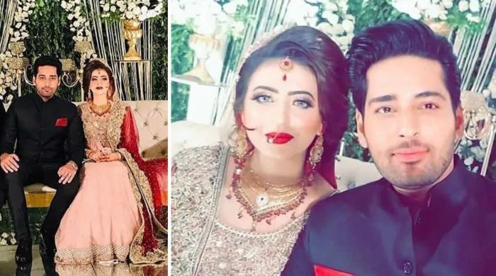 ہمایوں سعید کے چھوٹے بھائی سلمان رشتہ ازدواج میں منسلک ہو گئے