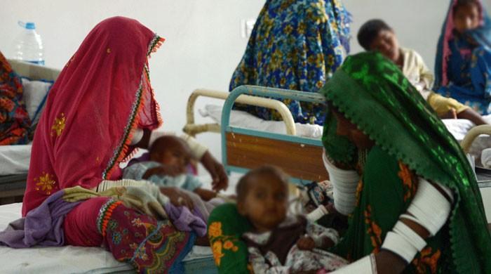 تھرپارکر میں غذائی قلت اور بیماریوں سے مزید 3 بچے انتقال کر گئے