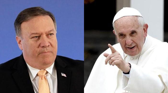 پوپ فرانسس کا امریکی وزیر خارجہ مائیک پومپیو سے ملاقات سے انکار