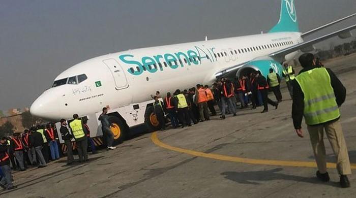 فنی خرابی: کراچی سے اسلام آباد جانیوالی نجی ائیرلائن کی پرواز سکھر سے واپس آگئی