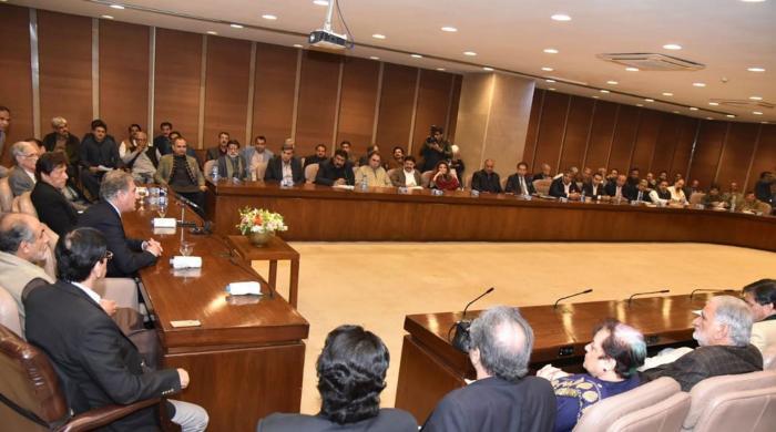 وزیراعظم کی زیر صدارت پارلیمانی پارٹی کے اجلاس میں کشیدگی کی اندرونی کہانی