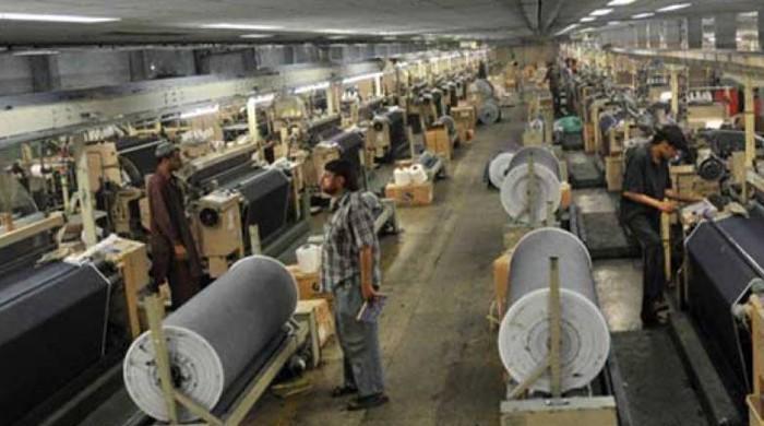 ملک کی بڑی صعنتوں کی پیداوار میں 6 اعشاریہ 7 فیصد کمی ریکارڈ