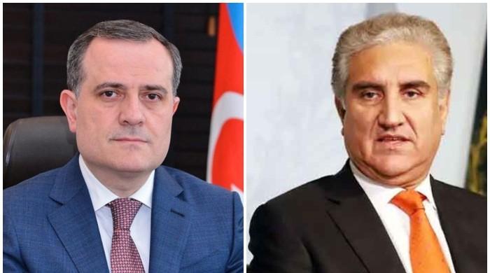 شاہ محمودکا آذری وزیر خارجہ سے رابطہ، نگورنوکارا باخ پر بھرپور حمایت کا اعادہ