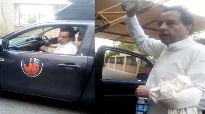 جیونیوز نے کیپٹن ریٹائرڈ صفدرکی گرفتاری کی ویڈیو حاصل کرلی