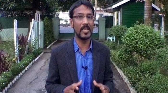22 گھنٹے سے لاپتہ جیو نیوز کے رپورٹر علی عمران گھر پہنچ گئے