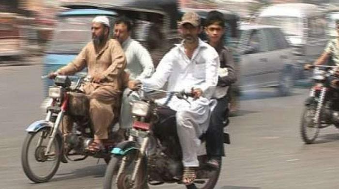 پی ڈی ایم جلسہ: کوئٹہ میں موٹرسائیکل کی ڈبل سواری پر پابندی