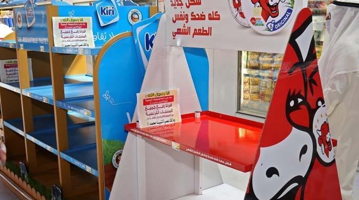 میکرون کا بیان: کئی ممالک میں فرانسیسی مصنوعات کے بائیکاٹ کی مہم شروع