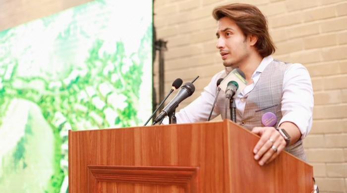 علی ظفر 'نمل نالج سٹی' کا سفیر مقرر ہونے پر خوش