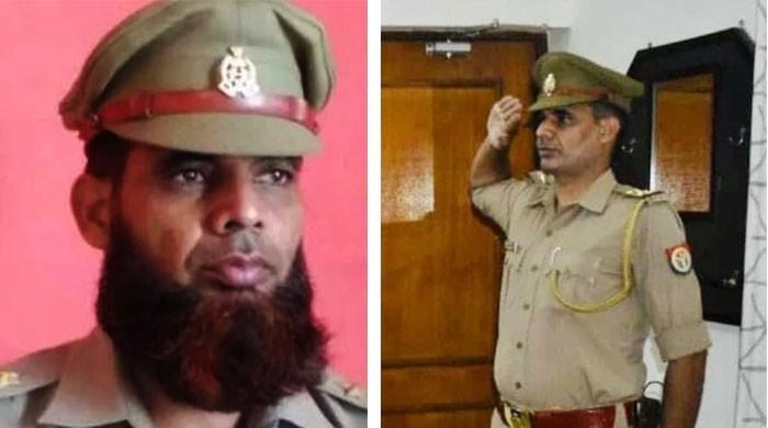 داڑھی رکھنے پر معطل مسلم بھارتی پولیس اہلکار نے گھٹنے ٹیک دیے