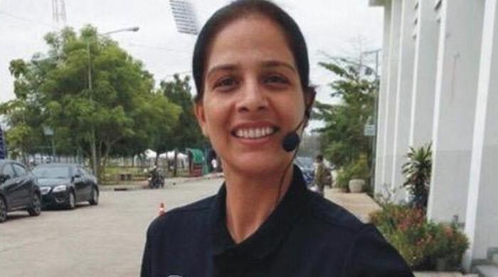 بینش حیات پاکستان کی پہلی سرٹیفائیڈ خاتون امپائر
