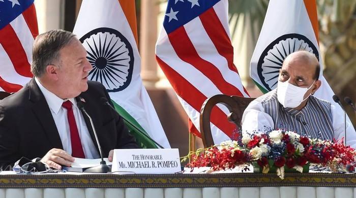 چین کا بھارت میں امریکی وزراء کے بیانات پر سخت ردعمل