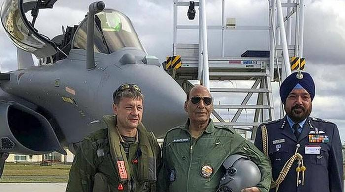 فرانس سے مزید 3 رافیل جنگی طیارے 5 نومبر کو بھارت پہنچیں گے