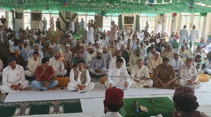 کراچی سینٹرل جیل میں عید میلاد النبیﷺ کا بڑا پروگرام