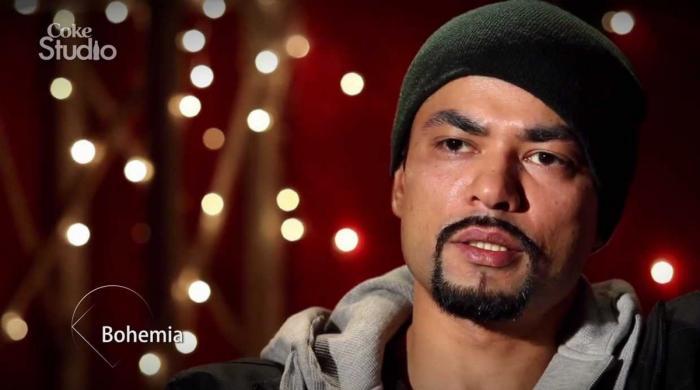 پنجابی ریپر بوھیمیا کی 8 سال بعد کوک اسٹوڈیو سیزن 13 میں واپسی