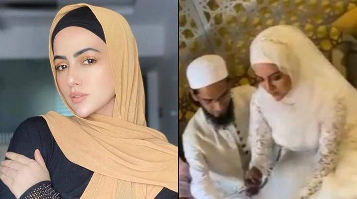 شوبز کو خیرباد کہنے والی بھارتی اداکارہ نے عالم دین سے شادی کرلی