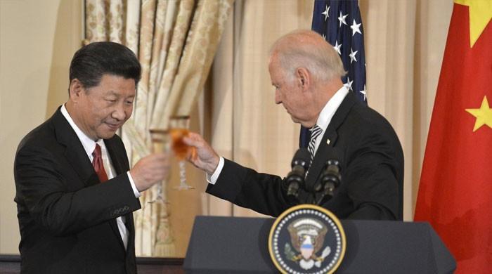 چینی صدر نے نو منتخب امریکی صدر بائیڈن کو ٹیلی گرام کے ذریعے پیغام بھیج دیا