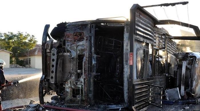 برازیل میں بس اور ٹرک کا خوفناک تصادم، 37 افراد ہلاک