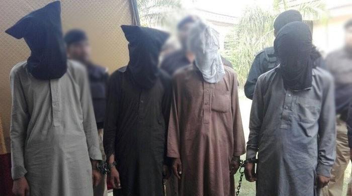کراچی سے کالعدم تنظیموں کے چار مبینہ ہائی ٹیک دہشتگرد گرفتار