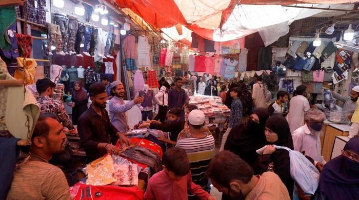 سندھ حکومت نے گھٹنے ٹیک دیے، 8 بجے تک مارکیٹ کھولنے کی اجازت