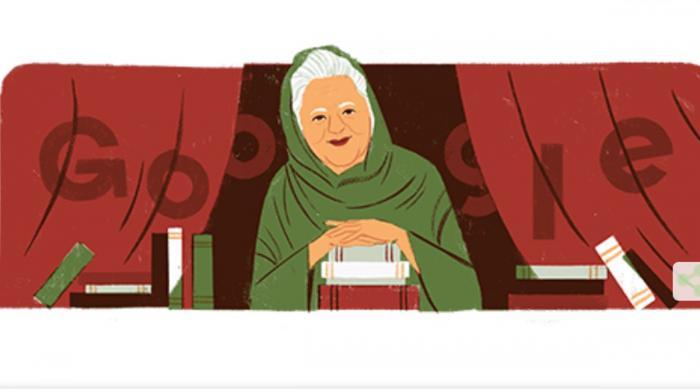 بانو قدسیہ کی 92 ویں سالگرہ پر گوگل کا خراج عقیدت