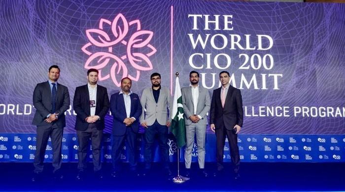 'ورلڈ سی آئی او 200 سمٹ' کیلئے جیو نیوز اور لوکو سروسز میں معاہدہ طے پاگیا