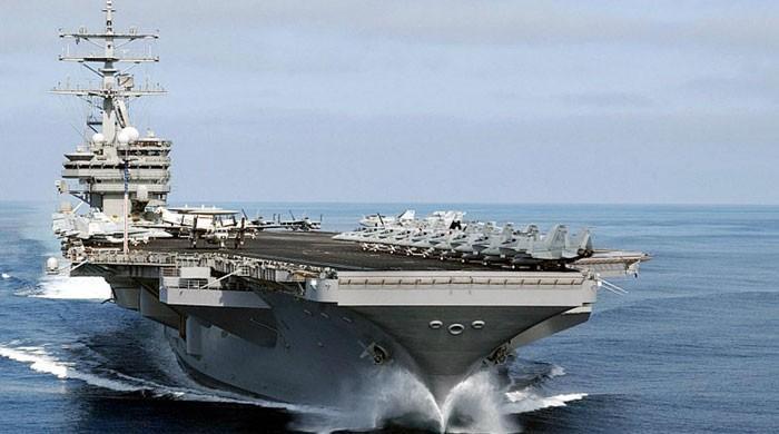 ایرانی سائنسدان کا قتل؛ امریکی بحری بیڑہ خلیج فارس میں تعینات