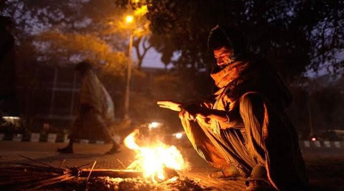 کراچی میں نومبرکے دوران سردی کا 10 سالہ ریکارڈ ٹوٹ گیا