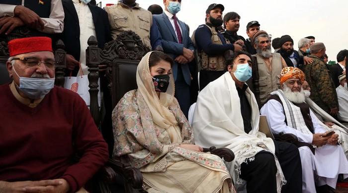 کے پی حکومت نے پی ڈی ایم کے پشاور جلسے کے منتظمین کیخلاف مقدمہ درج کرلیا