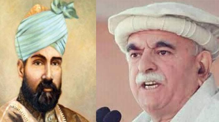 عبدالصمد اچکزئی اور مولانا ظفر علی خان