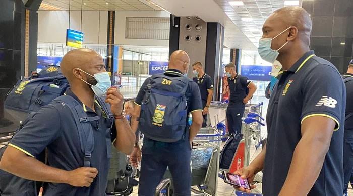 جنوبی افریقا کی ٹیم 14 سال بعد پاکستان پہنچ گئی