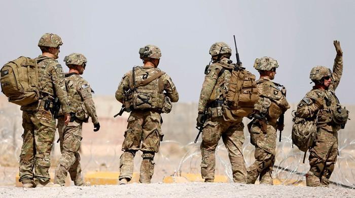 افغانستان میں امریکی فوجیوں کی تعداد 20 سال کی کم ترین سطح پر پہنچ گئی
