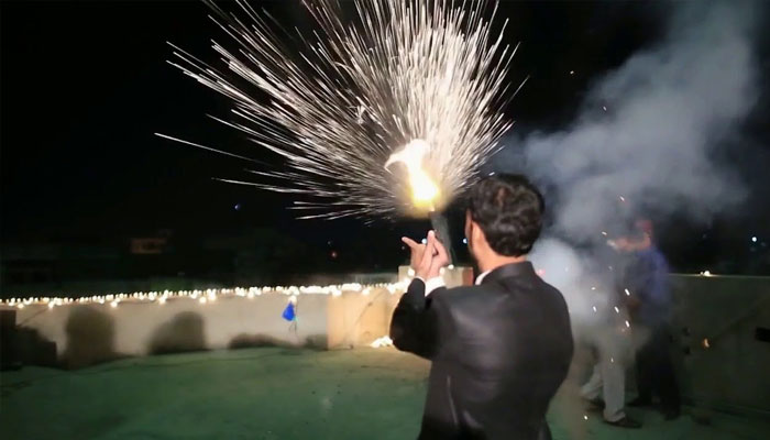 Firing with modern weapons at wedding ceremony, groom's brother arrested