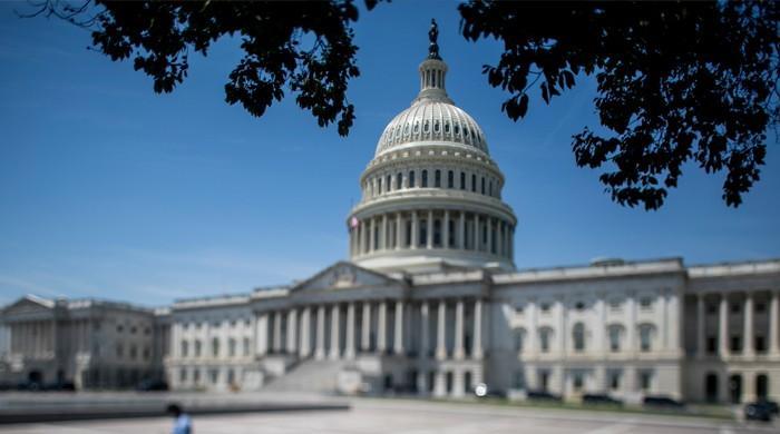 امریکی پارلیمنٹ کے قریب چیک پوسٹ سے مسلح شخص گرفتار