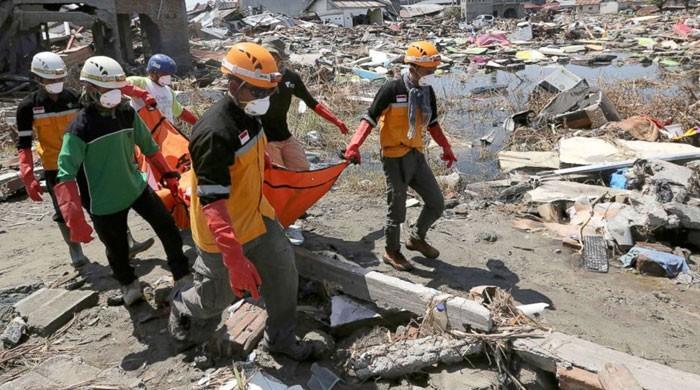 انڈونیشیا میں زلزلے سے ہلاک ا فراد کی تعداد 56 ہو گئی