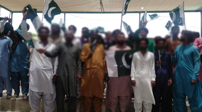 گھوٹکی ؛کالعدم تنظیموں کے 23 کارکن قومی دھارے میں شامل