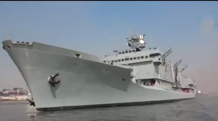 پاک بحریہ کا جہاز انسانی ہمدردی مشن پر افریقی ممالک کے دورے پر روانہ