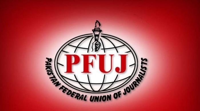 پی ایف یو جے کا اظہار رائے کو دبانے اور مسائل سے نکلنے کیلیے لانگ مارچ کا اعلان