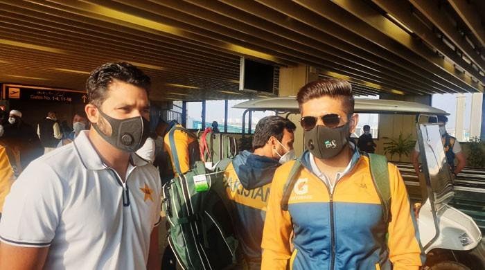 جنوبی افریقا کیخلاف پہلے ٹیسٹ کیلئے پاکستانی کرکٹرز نے کراچی میں رپورٹ کردی