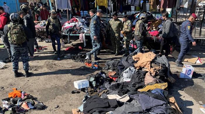 بغداد 3 سال بعد خودکش دھماکوں سے لرز اٹھا، 32 ہلاک
