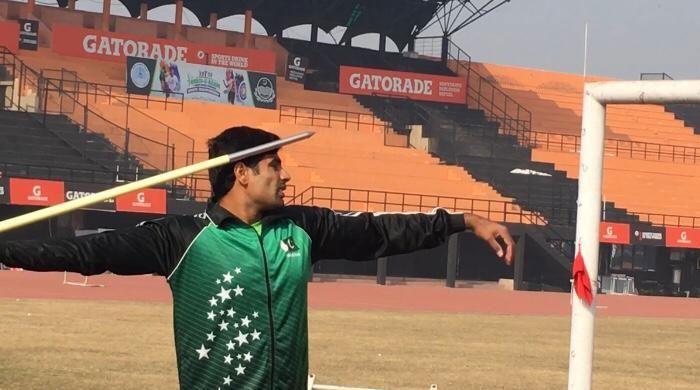 پاکستانی ایتھلیٹ ارشد ندیم اولمپک میڈل جیتنے کیلئے پرعزم