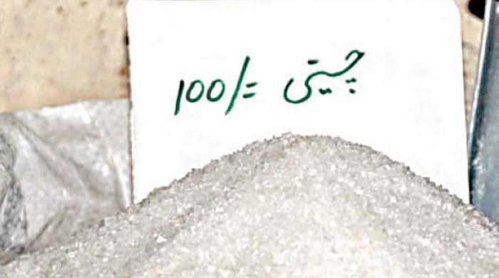 چینی کی فی کلو قیمت ایک بار پھر 100 روپے تک پہنچ گئی