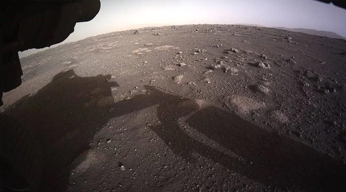 مریخ کی سطح پر مشن کے اترتے وقت کی آواز اور ویڈیو جاری