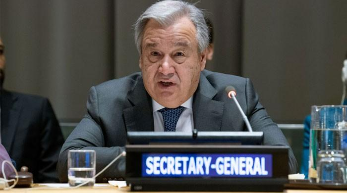پاک بھارت مشترکہ اعلامیہ دوسروں کیلیے مثال ہے: سیکرٹری جنرل اقوام متحدہ