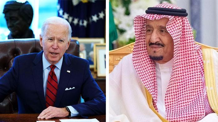 سعودی فرماں روا شاہ سلمان کا امریکی صدر جو بائیڈن کو فون